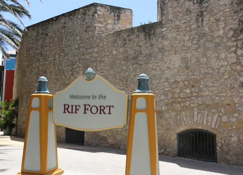 Rif Fort, em Curaçao