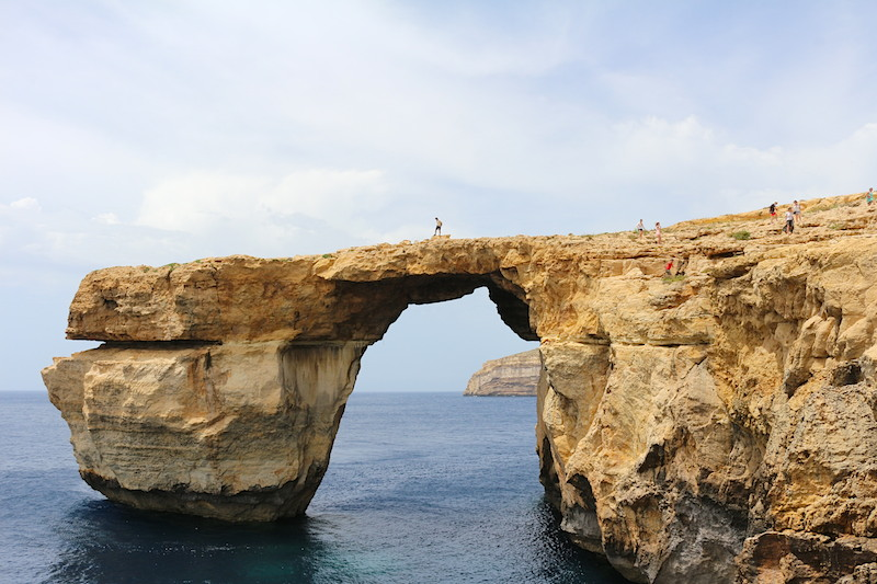 Azure Window, em Gozo, Malta, até ontem... :(