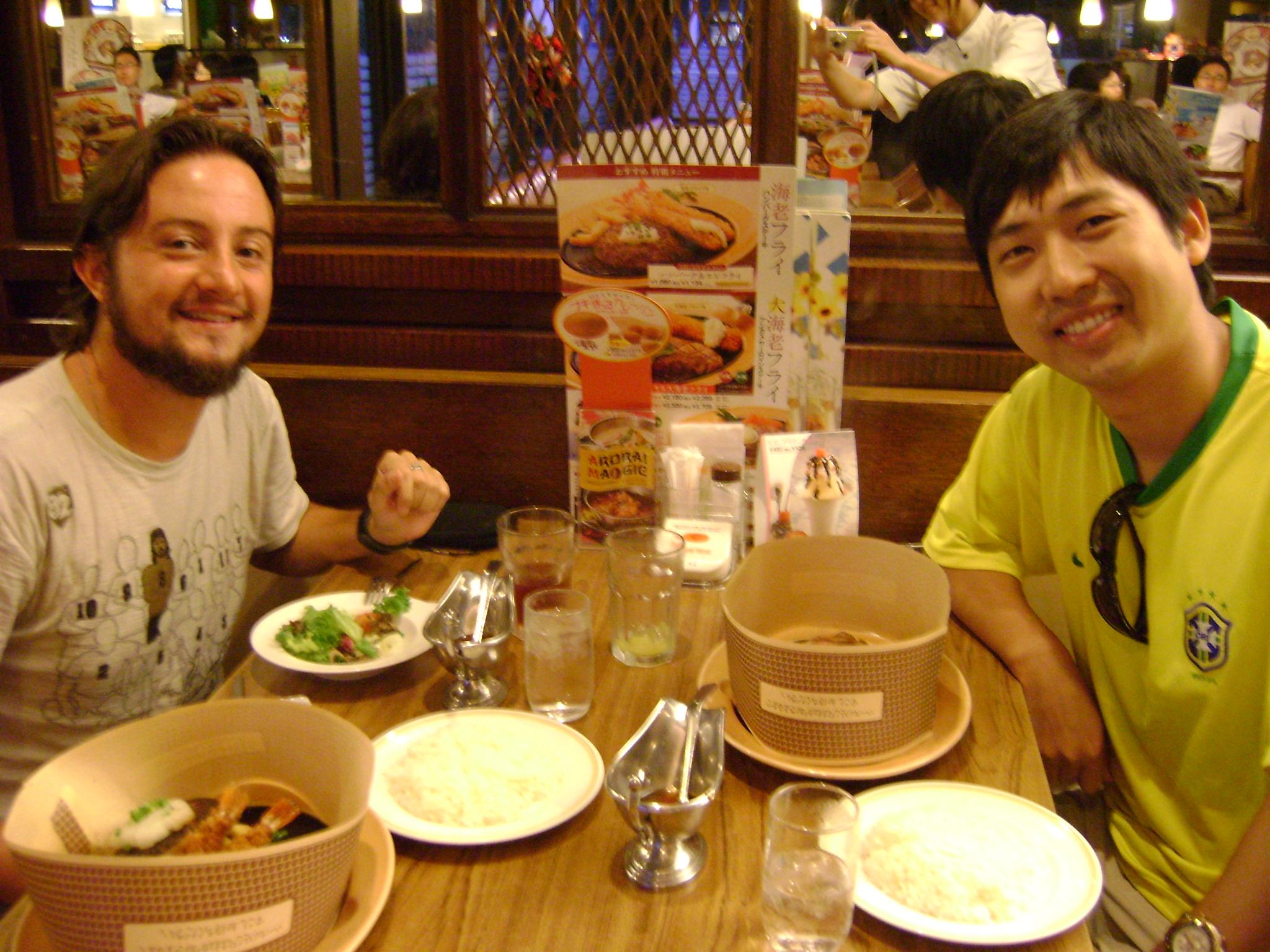 Comida japonesa de verdade!