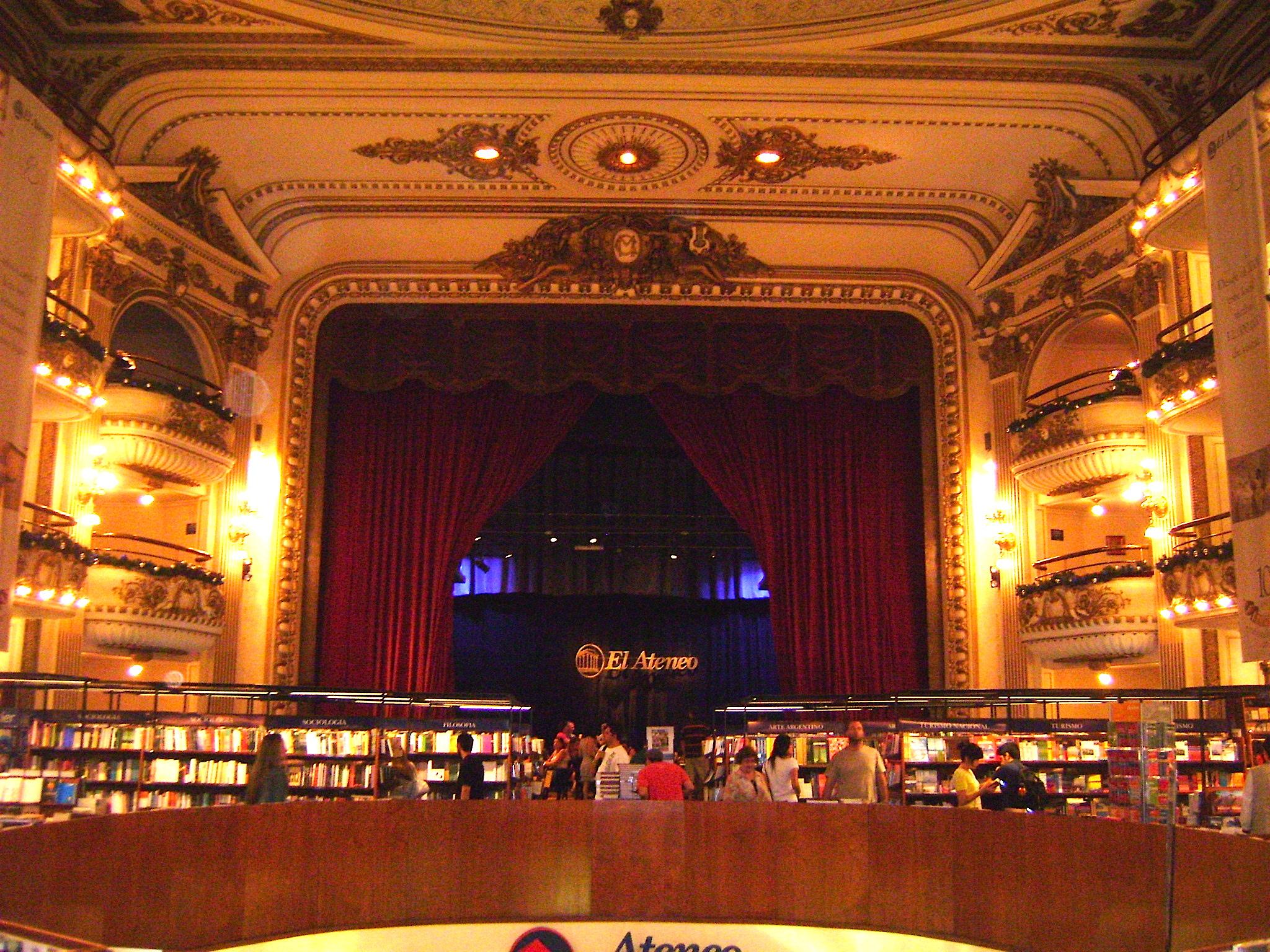 Livraria El Ateneo, em Buenos Aires