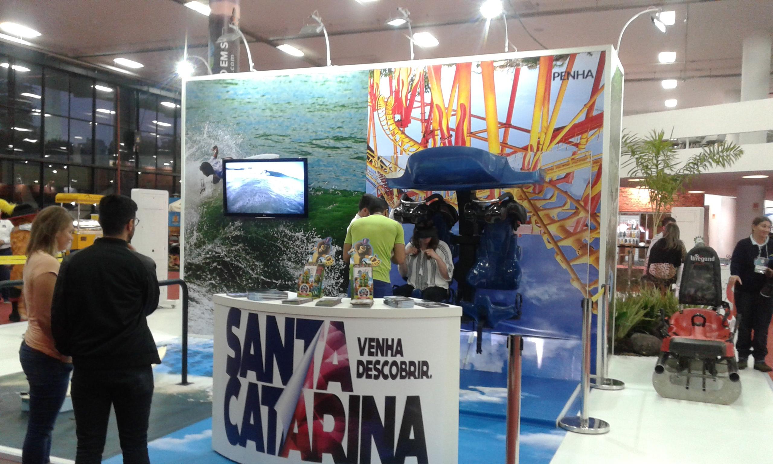 Atração de Santa Catarina na Mostra Viajar 2017