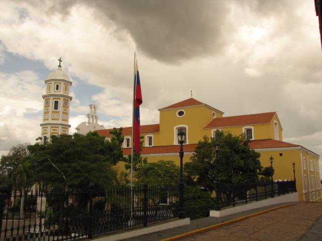 Prédios do governo em Ciudad Bolívar na Venezuela